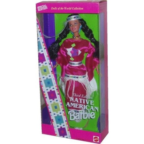 12699 Barbie Native American Third Edition - Dolls of The World Collection