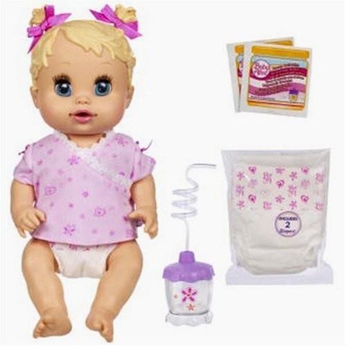 ベビーアライブBaby Alive Hasbro Sip 'N Slurp Caucasian Doll