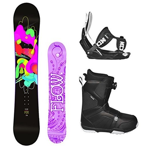 (税込) Boot (Boot Size 7 BOA Flow 2018 Pixi Size Women's Complete Snowboard Package Flow Bindings Flow BOA Boots - Board Size 144 (Boot Size 7), スポーツガイドonline:a55552f8 --- airmodconsu.dominiotemporario.com