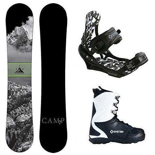 【別倉庫からの配送】 Boot Size 13 Camp Seven Package Valdez CRC Snowboard-159 cm-System APX Bindings-System APX Snowboard Boots 13, 清家ばんかんビレッジ aa0de86e