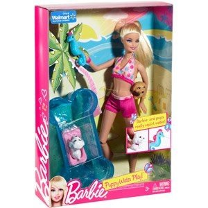 Barbie Puppy Water Play Playset