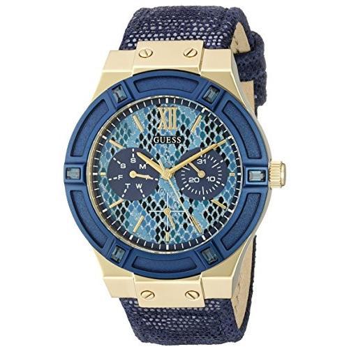 【セール 登場から人気沸騰】 U0289L3 Watch GUESS Multi-Function Women's U0289L3 Iconic Indigo Blue U0289L3 & Gold-Tone Multi-Function Watch, Planet-C プラネットシー:62d4ea40 --- airmodconsu.dominiotemporario.com