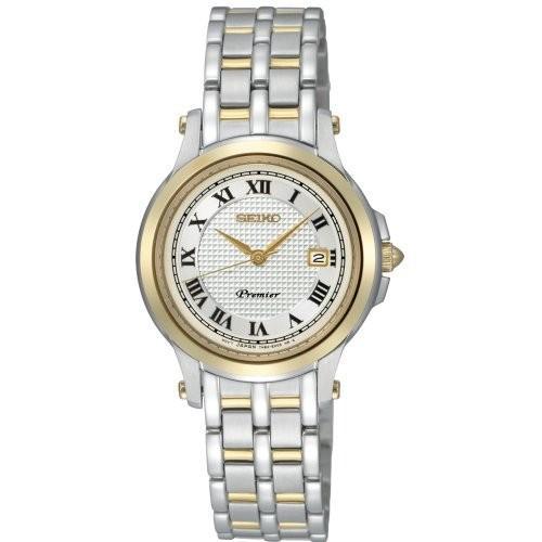 【返品交換不可】 SXDE02 Seiko Women's SXDE02 White Dial Watch, 有田焼の器 トゥルーコンセプト 9019511d