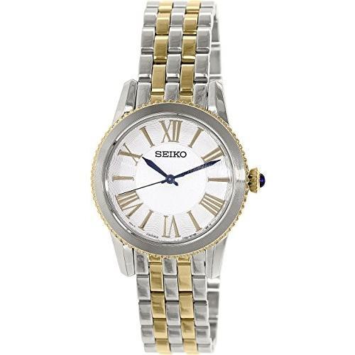 【通販激安】 SRZ438P1 Seiko Women's SRZ438 Silver Stainless-Steel Quartz Watch, カノセマチ e15d26e1