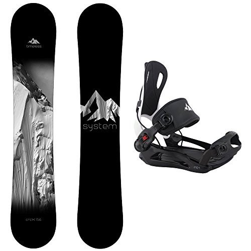 特別セーフ Large Bindings Snowboard System Package Timeless MTN Snowboard 156 cm MTN Large Binding Large, Flawless:bed84650 --- airmodconsu.dominiotemporario.com