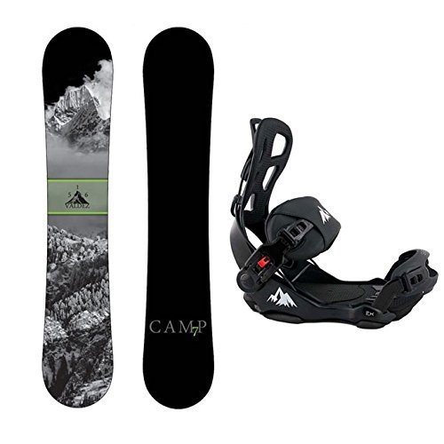 全国宅配無料 Large Bindings Camp Seven Package Valdez Snowboard 163 Package cm Seven 163 Wide-System LTX Binding Large, 名寄市:5304463c --- airmodconsu.dominiotemporario.com