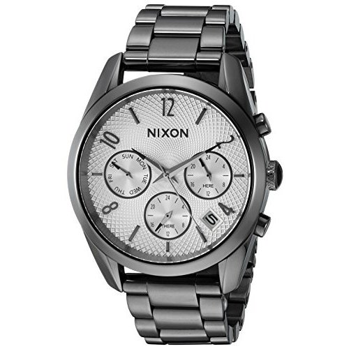 限定価格セール! A9492225-00 Nixon A9492225-00 Women's A9492225-00 Bullet Display Chrono 36 Japanese Analog Display Japanese Quartz Silver Watch, イセサキシ:6ef8340d --- airmodconsu.dominiotemporario.com