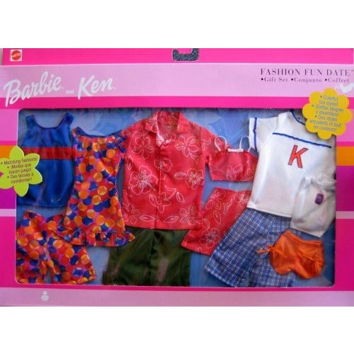 68802 Barbie Outfit Fashion Fun Date Gift Set 2001