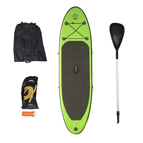 特別セーフ OTF-94314SUP 225-Pound Outdoor Tuff SUP OTF-94314SUP Backpack Inflatable Capacity Backpack Inflatable Paddle Board with Adjustable Paddle, 225-Pound Capacity, 中頸城郡:301c50f7 --- airmodconsu.dominiotemporario.com
