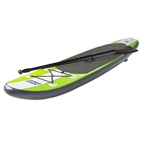 最上の品質な 8FT North Gear 8FT Inflatable SUP Stand up Paddle Board Package White/Lime Green, TIRE SHOP 4U b116b356