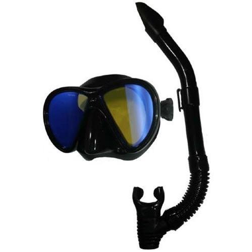 多様な OS Head Cobalt Ice Mirrored and Lens Lens Mask and Mask Snorkel Combo, 東神楽町:735fdfb9 --- airmodconsu.dominiotemporario.com