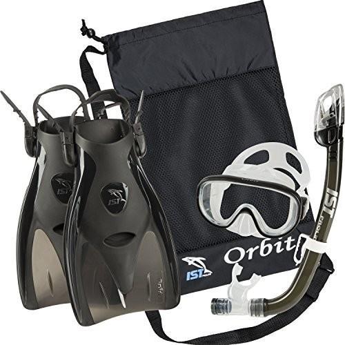 【保存版】 Small (2-5) IST Orbit Snorkel Set (Black, Small (2-5)), 業界大手!直販のエクスショップ dbf2ef75
