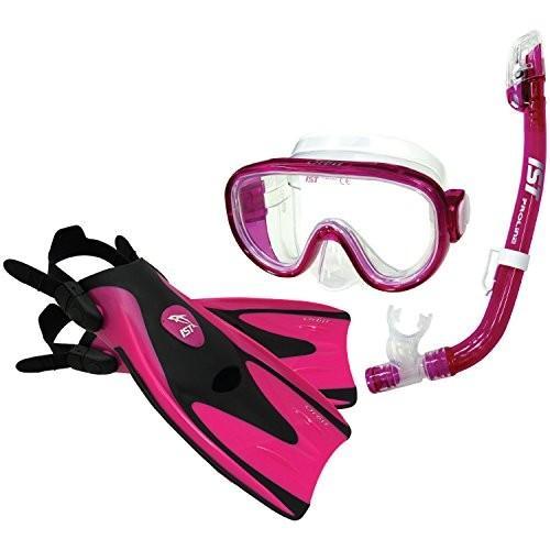 【 新品 】 Small (2-5) IST Orbit Snorkel Set (Pink, Small (2-5)), おおさかふ 704e3938