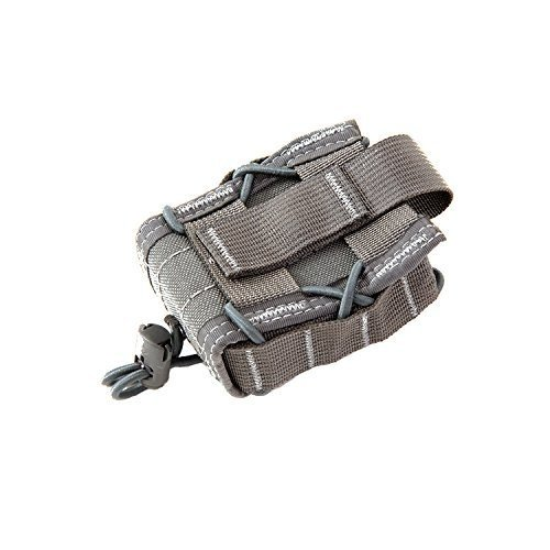 High Speed Gear Belt Mounted Handcuff Taco Pouch | Universal Handcuff Holster Fits Chain and Hinged Cuffs (Wolf Gray)