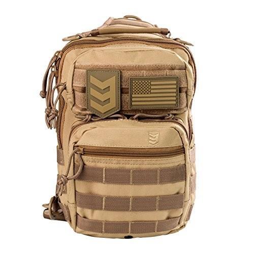 BT1206-COY Small 3V Gear Posse - EDC Tactical Shoulder Sling Pack