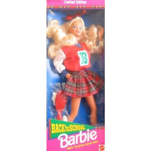 10217 Mattel BACK TO SCHOOL BARBIE 1992