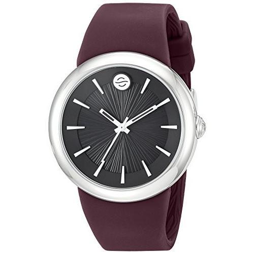 [定休日以外毎日出荷中] F36S-LCB-PR Philip Stein ' Japanese Quartz Stainless Steel and Silicone Watch, Color:Purple (Model: F36S-LCB-PR), シモタカイグン 8988d7d3