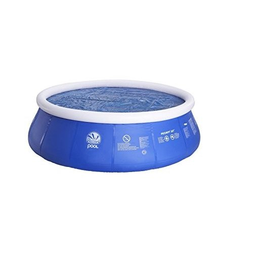 フロートPool Central Round Floating Solar Prompt Set Swimming Pool Cover, 青, 14.4'