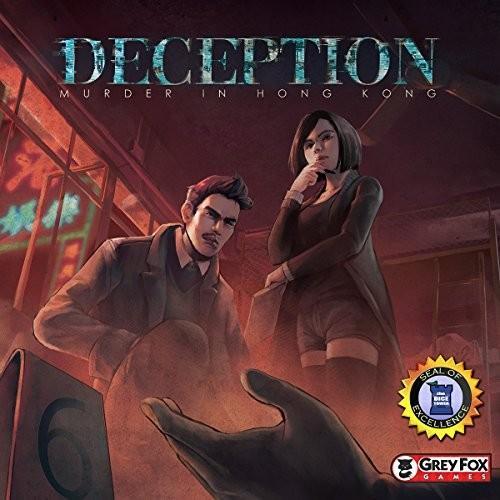 GFG96761 Standard グレー Fox Games Deception: Murder in Hong Kong Board Game