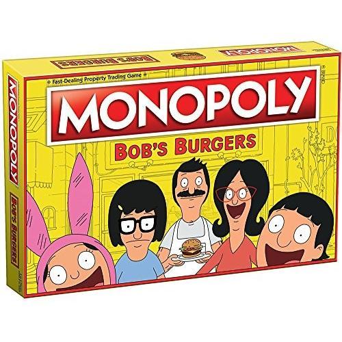 ボードゲームMonopoly Bobs Burgers Board Game | Themed Bob Burgers TV Show Monopoly Game | Officially Licensed Bob's Burgers