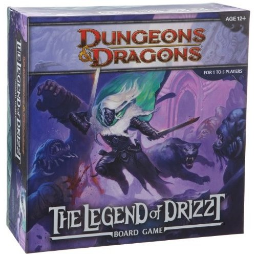 355940000 Dungeons & Dragons: The Legend of Drizzt Board Game