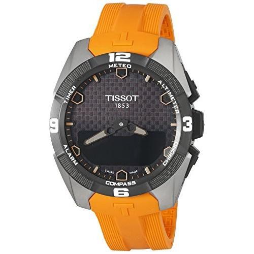 激安超安値 T0914204705101 Tissot Men's Swiss Swiss Quartz Titanium Casual Casual Tissot Watch (Model: T0914204705101), 粉河町:5439dbff --- airmodconsu.dominiotemporario.com