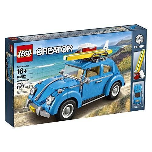 レゴLEGO Creator Expert Volkswagen Beetle 10252 Construction Set (1167 Pieces)