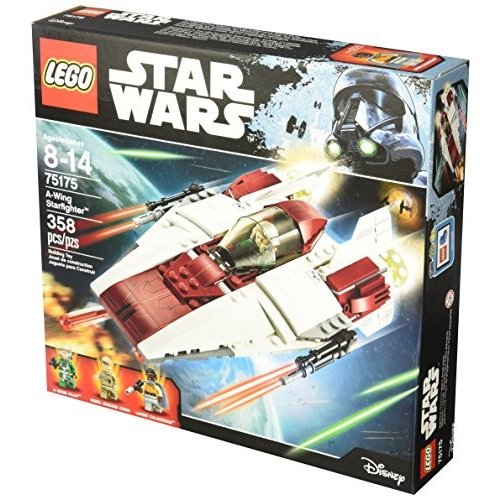 75175 LEGO Star Wars A-Wing Starfighter 75175 Building Kit (358 Piece), Multi