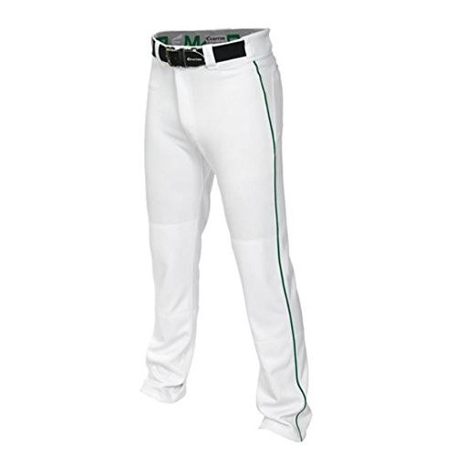 A167101 Small Easton MAKO 2 Pant Adult Piped 白い/緑 S