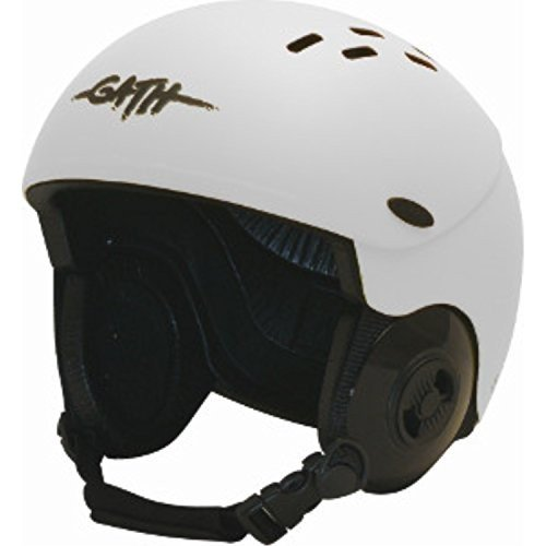 【おトク】 Large Gath Gedi Peak Helmet with Peak - - White - with L, 三島郡:8ad3ae2d --- airmodconsu.dominiotemporario.com