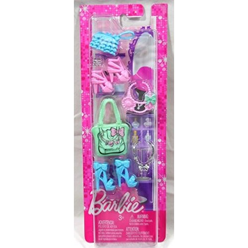 N4811 Barbie Fashionistas Glam and Sweetie Accessories