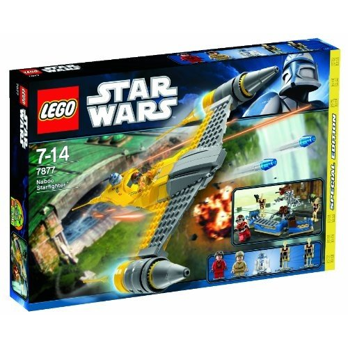 294914 LEGO Star Wars Exclusive Special Edition Set #7877 Naboo Starfighter