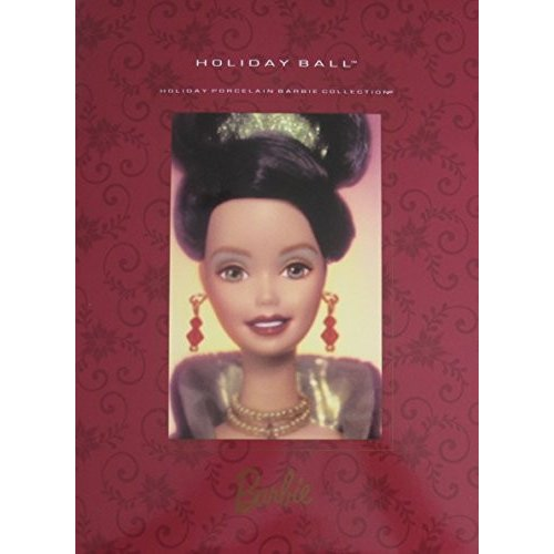 Barbie Holiday Ball Porcelain Doll 3rd in Series #44234 Limited Edition wSHIPPER Box (1997)
