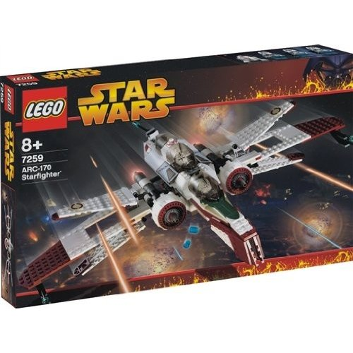 レゴLego Star Wars ARC-170 Starfighter 7259