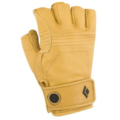 BD801851 Medium Black Diamond Stone Climbing Gloves, Natural, Medium