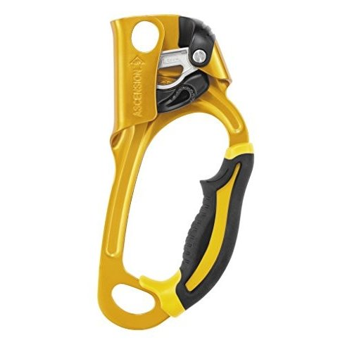 B17ARA Right PETZL Ascension Gold Ascender Yellow Right