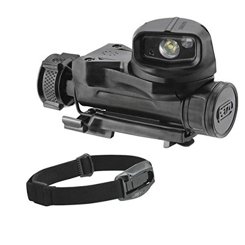 E90AHB N One Size PETZL - STRIX VL Headlamp with Headband, 黒