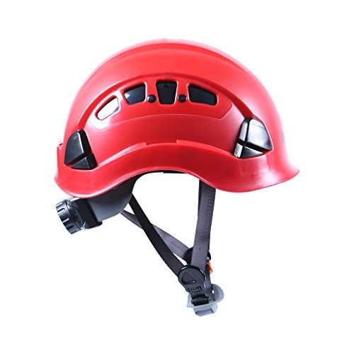 Jili Online Professional Rock Climbing Helmet Safety Tree Arborist Zipline Caving Rappelling Rescue Head Protection Hard Hat - 5 C