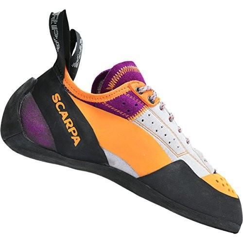 TECHNO PRO WMN-W 5 Scarpa Women's Techno X Climbing Shoe,銀/Begonia,37 EU/5 M US