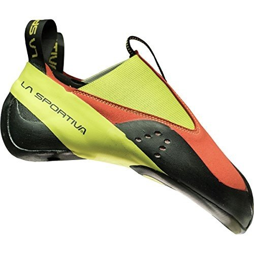 20C-304702-33 3 Women/2 Men La Sportiva MAVERINK Climbing Shoe, Flame/Sulphur, 33