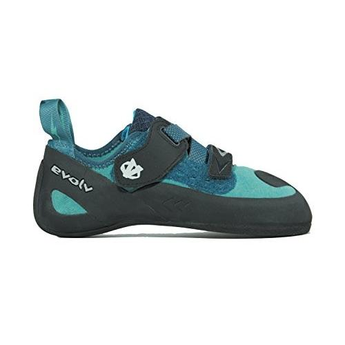 EVL0248-TEAL-55 5.5 B(M) US Evolv Kira Climbing Shoe - Women's Teal 5.5