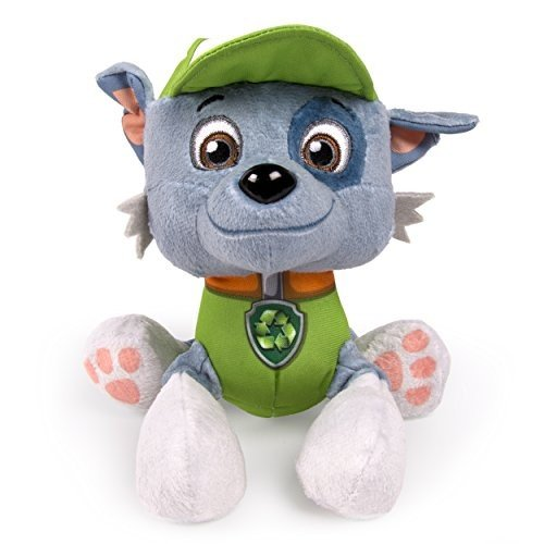 20064019-6026845 6 inches Paw Patrol Plush Pup Pals, Rocky