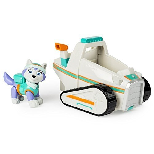 パウパトロールPaw Patrol Everest's Rescue Snowmobile, Vehicle and Figure