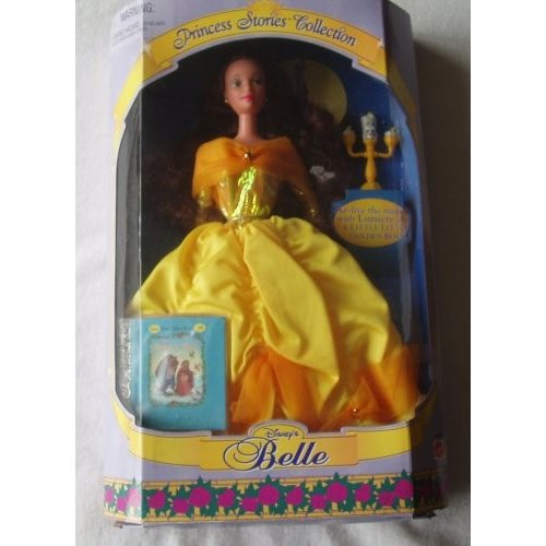Barbie Disney Princess Stories Collection Belle Doll