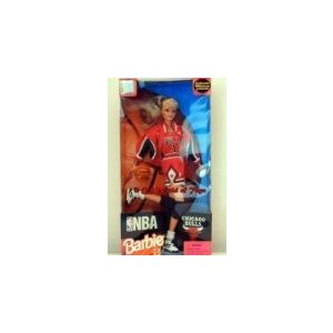 20692 1998 NBA Chicago Bulls Barbie [Toy]