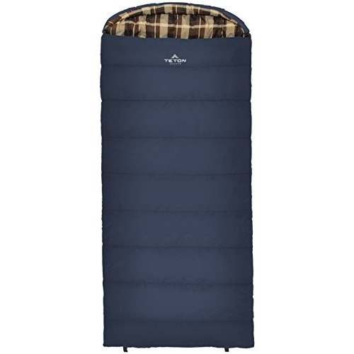 103L 90 X 36-Inch TETON Sports Celsius XL -25F Sleeping Bag; Cold Weather Sleeping Bag; Great for Family Camping; Free Compression