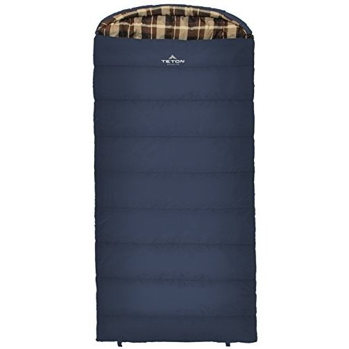 151R Right Zipper TETON Sports Celsius XL 0F Sleeping Bag; Great for Family Camping; Free Compression Sack