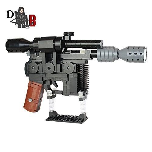 レゴStar Wars Custom Han Solo DL-44 Heavy Blaster Pistol made using LEGO parts