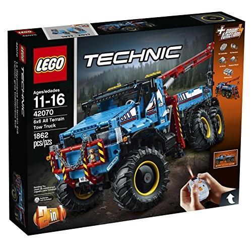 レゴLEGO Technic 6x6 All Terrain Tow Truck 42070 Building Kit (1862 Pieces)