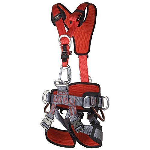 CAMP GT ANSI Fullbody Climbing Harness Size 1 Small to Large ANSI Certified